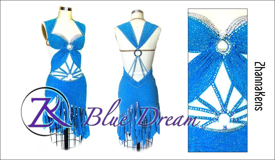 Zhannakens Blue dream dress