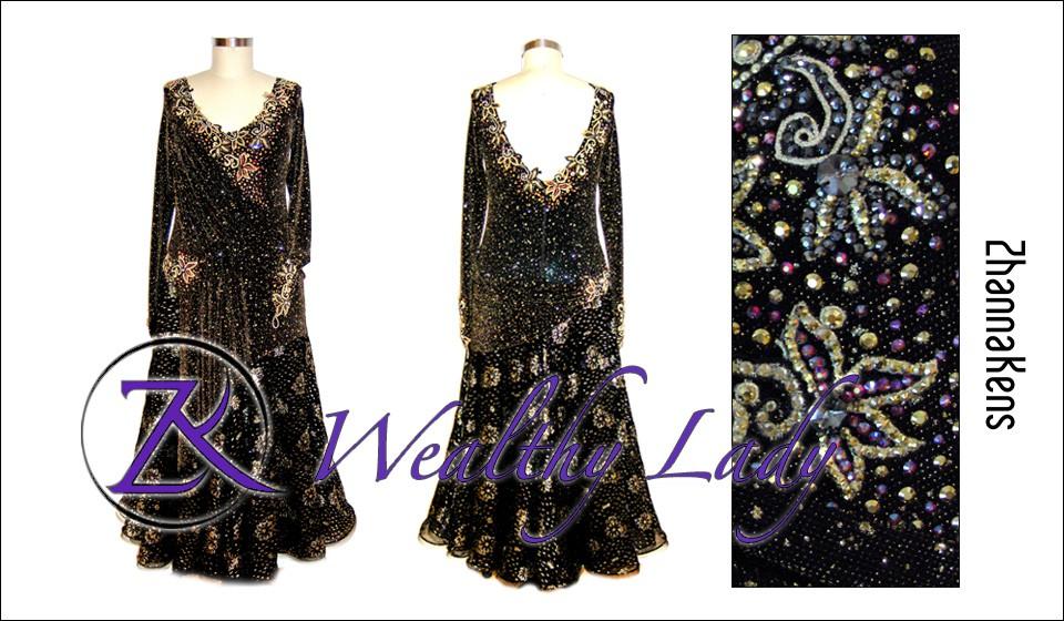 Zhannakens Wealthy lady dress