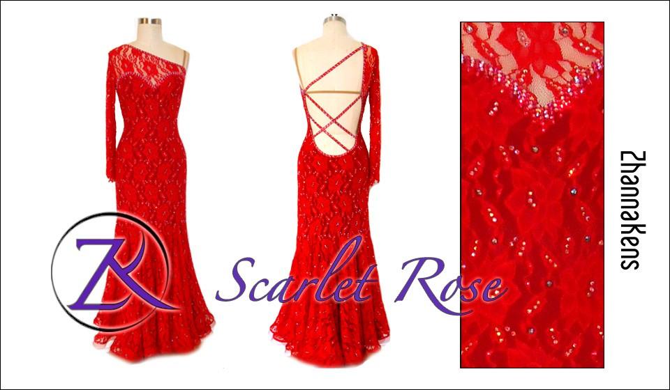Zhannakens Scarlet rose