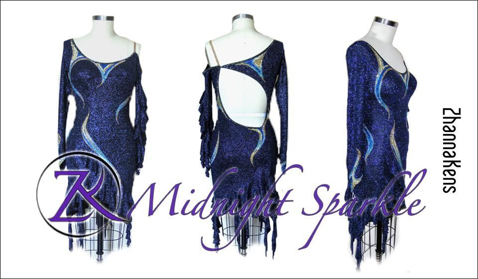 Zhannakens Midnight sparkle