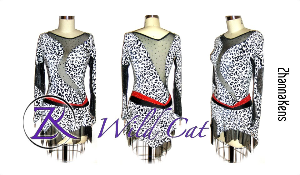 Zhannakens Wild cat dress