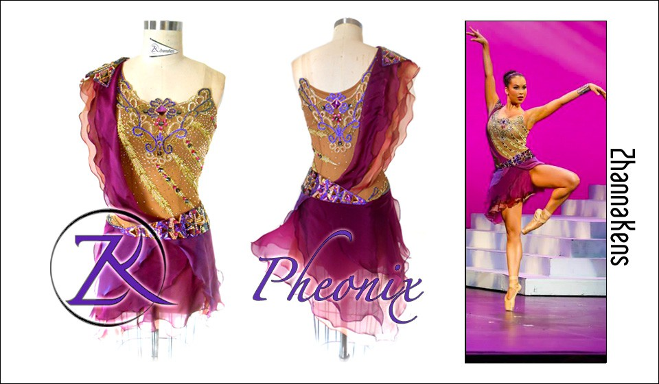 Zhannakens - Pheonix dress