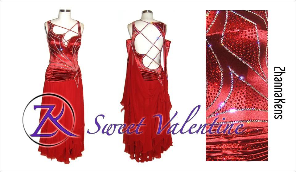 Zhannakens Sweet valentine dress