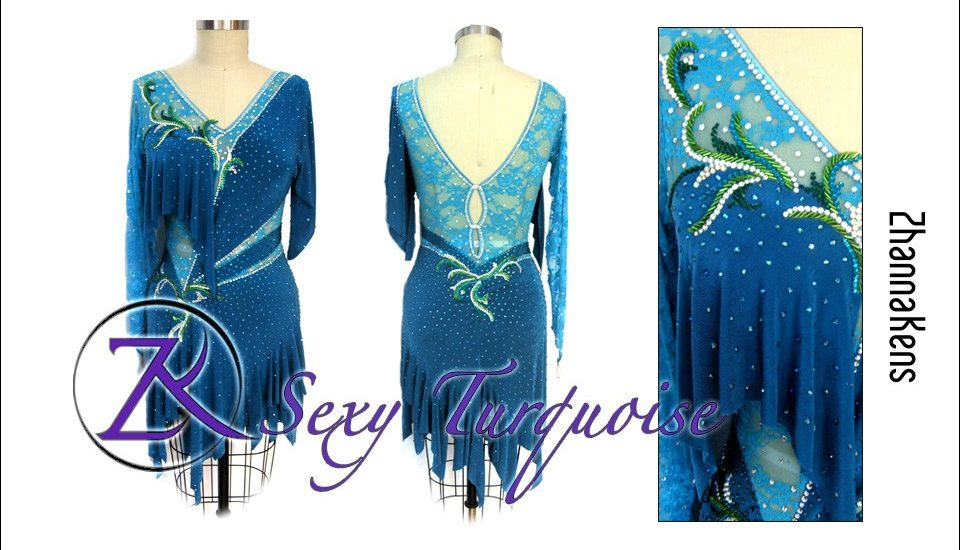 ballroom latin dress